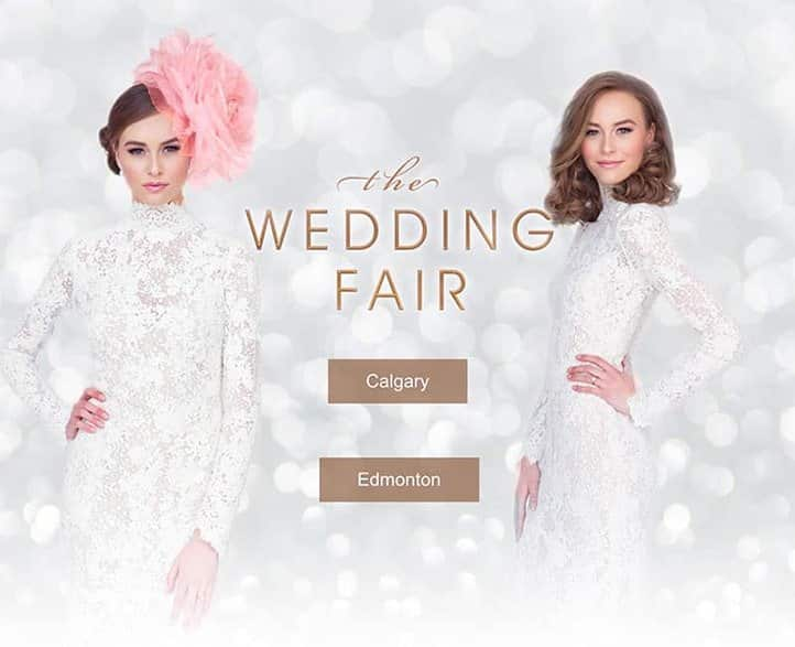 The Wedding Fair,<br>Calgary & Edmonton